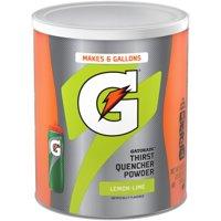 Gatorade Thirst Quencher Lemon Lime Drink Mix Powder, 51 Oz.