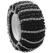 Deep Lug Snowblower Tire Chains, 4.00/4.80-8