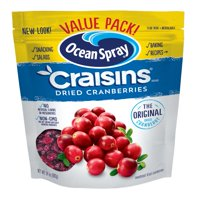 Ocean Spray Craisins Gluten-Free The Original Dried Cranberries Value Pack, 24 Oz.