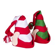 d89941c10f660 Deluxe Felt Elf Hat With Ears Santas Helper Christmas Time Costume Accessory