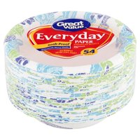 Great Value Everyday Paper Bowls, 20 oz, 54 Count