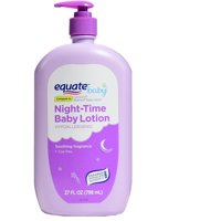 Equate Baby Hypoallergenic Night-Time Baby Lotion, 27 fl oz