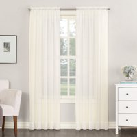 No. 918 Emily Sheer Voile Rod Pocket Curtain Panel