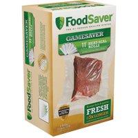 """FoodSaver GameSaver 11"""" x 16' Vacuum Seal Rolls, 6 Pack"""
