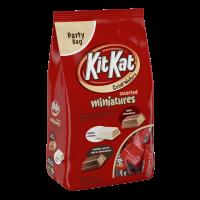 (2 Pack) Kit Kat, Crisp Wafer Milk Chocolate Candy Bars Miniatures, 36 Oz