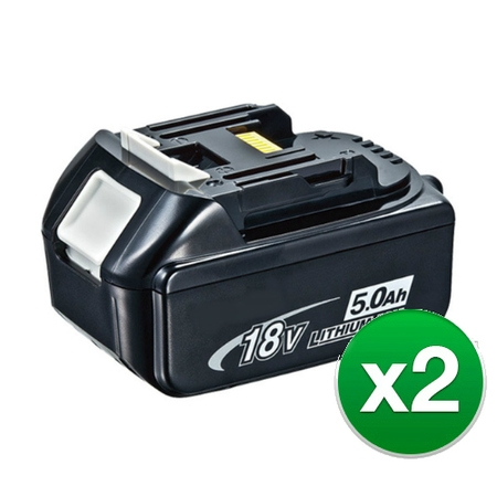 Replacement Battery For Makita DUB182 / DUB182Z Power Tools - BL1850 (5000mAh, 18V, Li-Ion) - 2