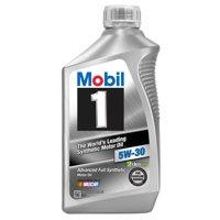 Mobil 1 5W-30 Full Synthetic Motor Oil, 1 qt.