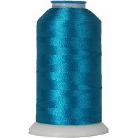 Threadart Rayon Machine Embroidery Thread - No. 250 - Blue - 1000M - 145 Colors - Pack of 5 Spools