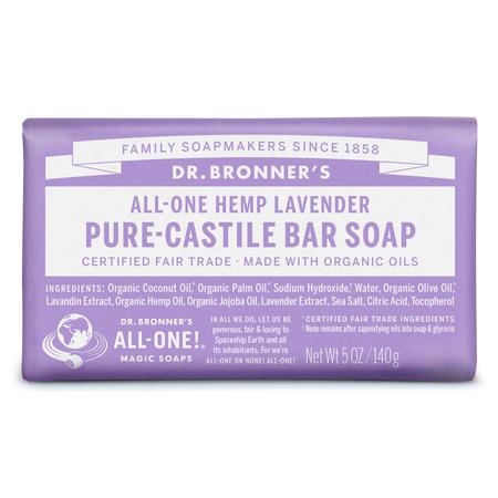 Dr. Bronner's Lavender Bar Soap (Lavender Soap Set)