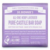 (3 pack) Dr. Bronner's Lavender Bar Soap