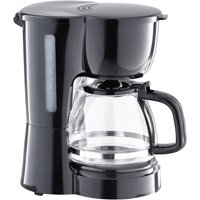 Mainstays Black 5-Cup Coffee Maker with Removable Filter Basket