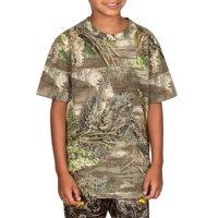 Realtree Youth Short Sleeve Camo Tee