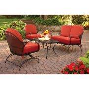 Better Homes & Gardens Clayton Court 4-Piece Patio Conversation Set