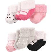 Baby Girl Socks, 6-Pack