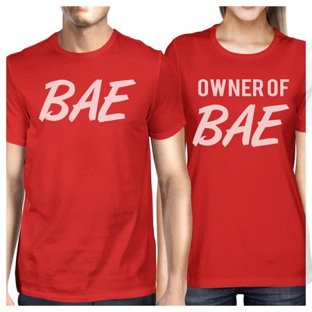 Bae And Owner Of Bae Funny Saying Matching Couples Gifts Shirts - Funny Couple Ideas