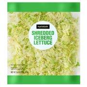 Marketside Shredded Iceberg Lettuce, 16 oz