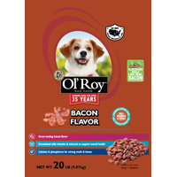 Ol' Roy Bacon Flavor Dry Dog Food, 20 lb