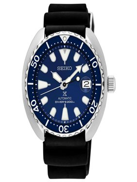 Seiko Men's Prospex Automatic Stainless Steel Silicone Band Watch SRPC39J1
