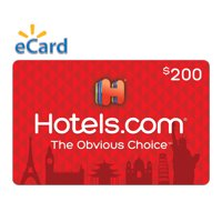 Hotels.com $200 (email delivery)