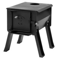 """Cub"" Portable Camp Wood Stove"
