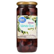 Great Value Pitted Greek Kalamata Olives, 9.5 oz