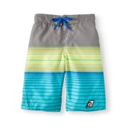 3c8da6eb04 Summer Is Back Stripe Swim Trunks (Big Boys)