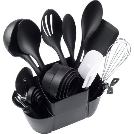 Mainstays 21-Piece Kitchen Utensils