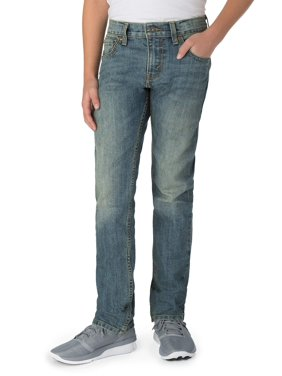 Signature by Levi Strauss & Co. Boy's Skinny Fit Jeans
