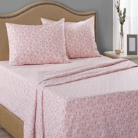 Mainstays 200 Thread Count Fitted Bed Sheet Set, 1 Each