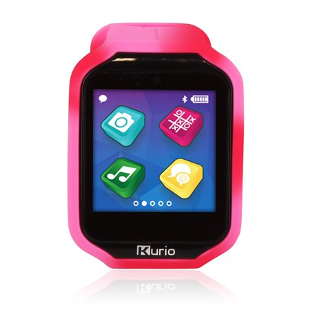 Watch 2.0+ Smartwatch Built for Kids with 2 Bands, Purple and Red/Pink Color
