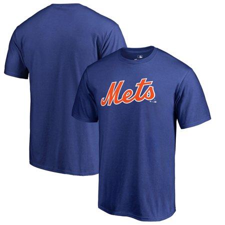 New York Mets Fanatics Branded Big & Tall Team Wordmark T-Shirt - Royal](N Mets)