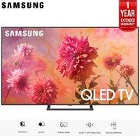 "Samsung 75"" Q9FN QLED Smart 4K UHD TV 2018 Model (QN75Q9FNAFXZA) with 1 Year Extended Warranty"