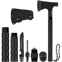 Deals on Survival Axe Folding Portable Camping Axe Bundle