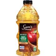 (2 Pack) Sam's Choice Fresh Pressed 100% Juice, Apple, 64 Fl Oz, 1 Count