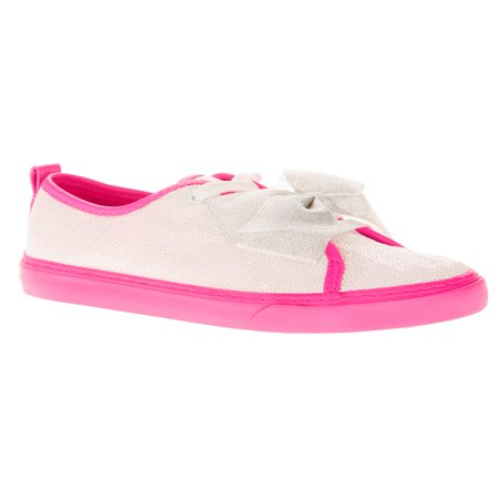 Jojo Siwa Girls' Reverse Sequin Low Top Casual Sneaker](Girl Flats Shoes)