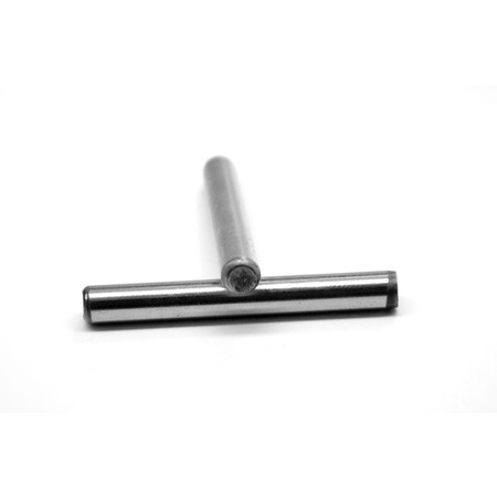 M4 x 12 MM DIN 6325 Dowel Pin Hardened And Ground Alloy Steel Bright Finish Pk