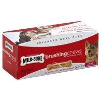 Milk-Bone Brushing Chews Daily Dental Treats, Mini, 5.5-Ounce - 14 Bones