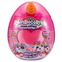 Rainbocorns Sequin Surprise Hamstercorn Plush in Giant Mystery Egg by ZURU