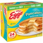 Kellogg's Eggo Buttermilk Pancakes, 24 ct, 32.7 oz