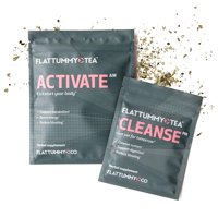 Flat Tummy Tea, All-Natural Detox Tea, 2 Week Cleanse, 1.06 Oz