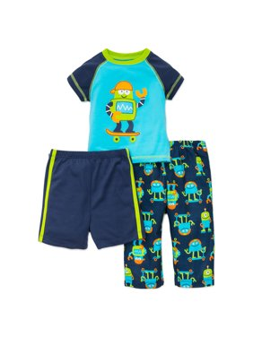 4ec8585cbf75 Baby Boys Pajama Sets - Walmart.com