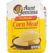 (2 Pack) Aunt Jemima Yellow Corn Meal 80 oz. Bag