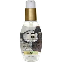 OGX Nourishing + Coconut Milk Anti-Breakage Serum, 4.0 FL OZ