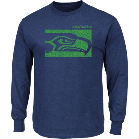 - NFL Seattle Seahawks Men's Big and Tall Long Sleeve Tee