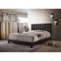 ACME Masate Upholstered Queen Bed, Espresso