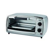 Oster 4-Slice Toaster Oven, Stainless Steel (TSSTTVVGS1)
