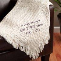 Personalized Blanket - In Loving Memory Memorial Throw Blanket