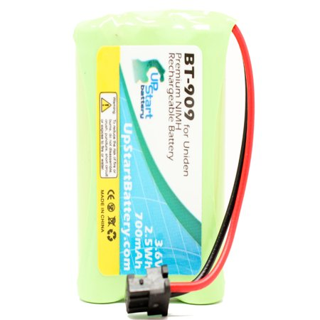 UpStart Battery Uniden TCX400 Battery - Replacement for Uniden Cordless Phone Battery (700mAh, 3.6V, NI-MH) (Mnh Telephone)