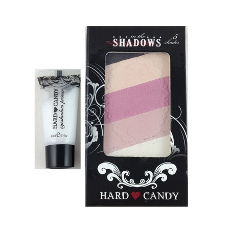 Hard Candy in the Shadows Eye Shadow Collection Rebel 023 + Makeup Blender Sponge - Male Candy Skull Makeup