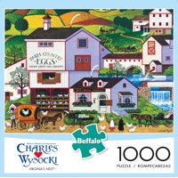 Buffalo Games Charles Wysocki Virginias Nest 1000 Pc Puzzle Deals